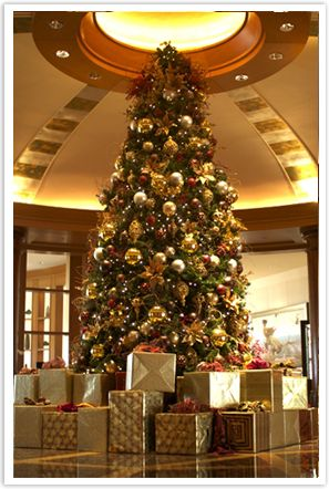 Commercial Holiday Decor Christmas Tree