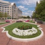plaza exterior landscaping